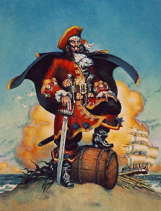 sir henry morgan British admiral and knight known as one of the world's most daring and dangerous pirates, he was actually a privateer this means that he was commissioned by the.